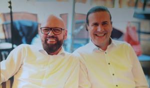 Französisches Restaurant in Frankfurt von Peter Kochhäuser und Robert Krzeminski