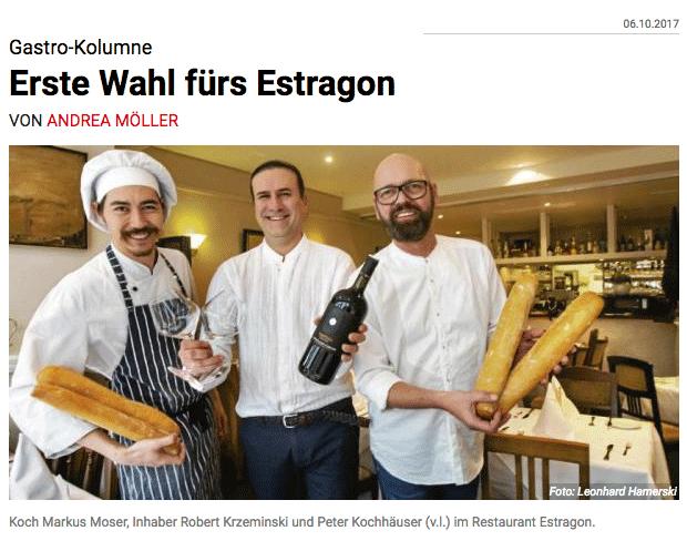 Frankfurter Neue Presse über Estragon